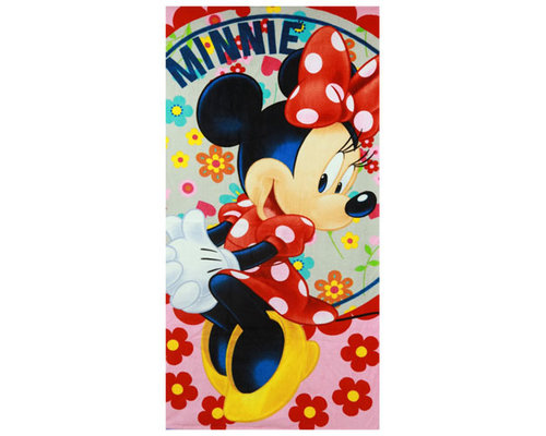 Disney Minnie mouse Strandlaken flowers