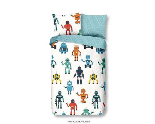 Good Morning Kinderdekbedovertrek Robots