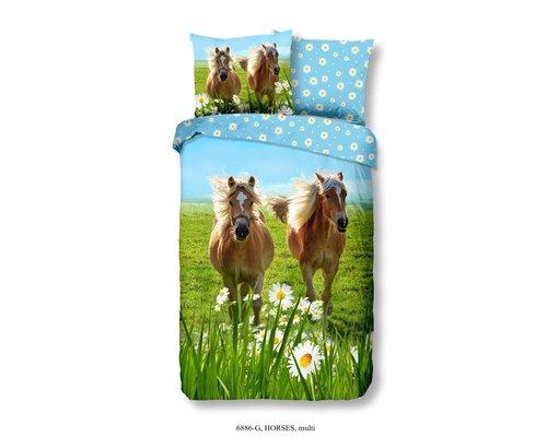 Good Morning Dekbedovertrek Pony's