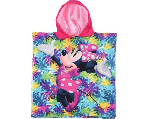 Minnie mouse Badponcho met capuchon Love Summer