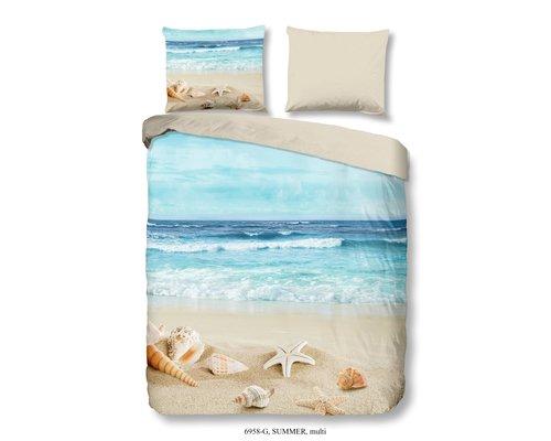 Good Morning Dekbedovertrek Summer beach