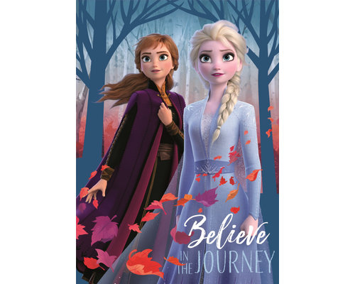 Frozen 2 fleece deken Believe 100x140 cm