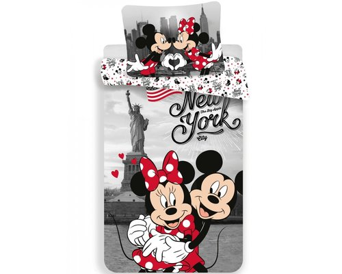 Dekbedovertrek Mickey & Minnie New York