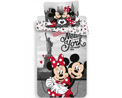 Mickey Mouse Dekbedovertrek Mickey & Minnie New York