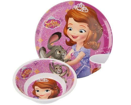 Prinsesje Sofia 2 delige kinderservies set
