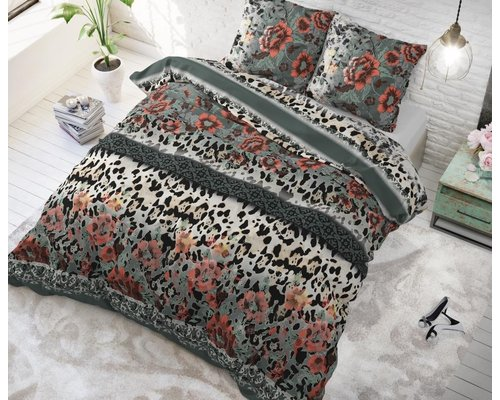 Sleeptime Dekbedovertrek Panter lace