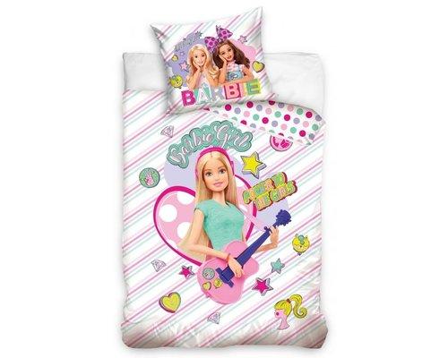 Barbie Dekbedovertrek Gitaar 140x200 cm