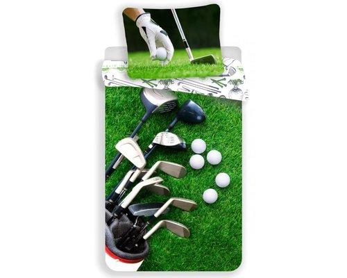 Sweet home Golf dekbedovertrek 140x200 cm