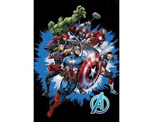 Marvel Avengers fleece deken Fight