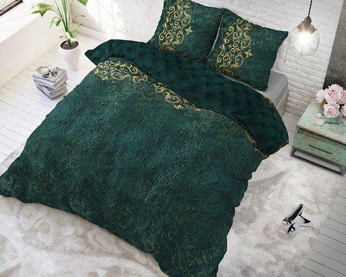 Sleeptime Dekbedovertrek Chrone groen