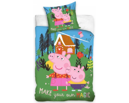 Peppa Pig Dekbedovertrek Magic 140x200 cm