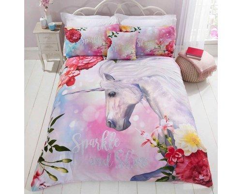Unicorn Dekbedovertrek Sparkle & Shine Unicorn