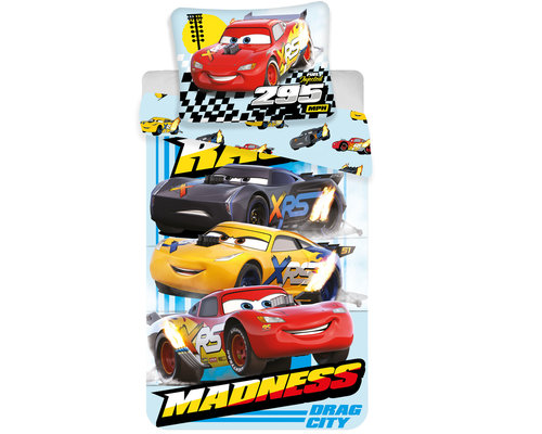 Disney Cars Dekbedovertrek Madness