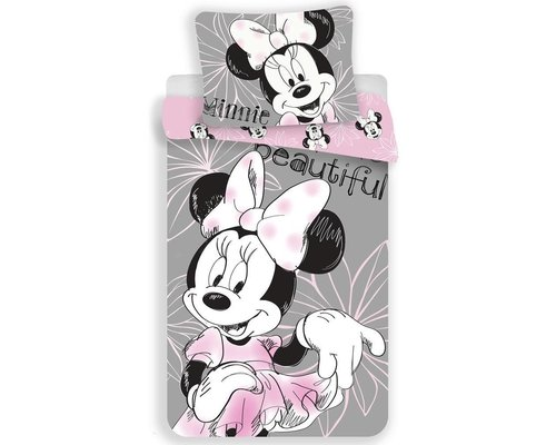 Disney Dekbedovertrek Minnie Mouse Beauty