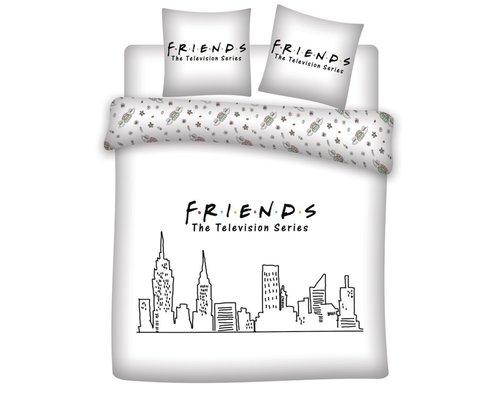 Friends Skyline dekbedovertrek