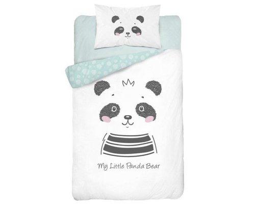 Mayamoo Dekbedovertrek Panda 100x135 cm