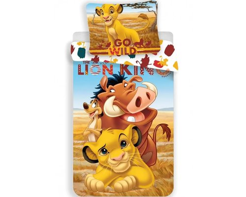 Disney The Lion King dekbedovertrek 100x135 cm