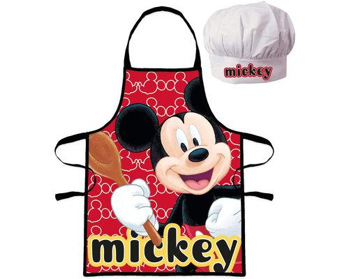 Disney Mickey Mouse Keukenschort met koksmuts