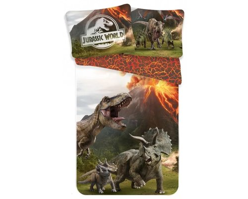 Jurassic World T Rex dekbedovertrek World