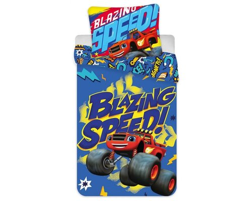 Blaze Ledikant dekbedovertrek Blazing speed