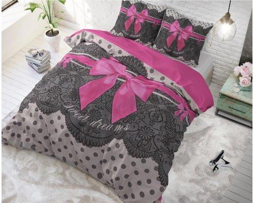 Sleeptime Dekbedovertrek Romance roze