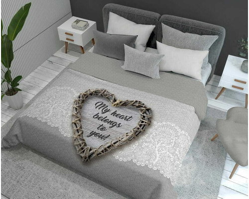 Holland Young Bedsprei My heart 220x240 cm