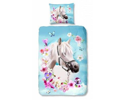 Good Morning Dekbedovertrek paard My Beauty  140x220cm