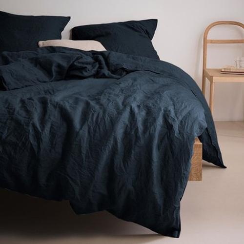 rustige slaapkamer dekbedovertrek Valka indigo