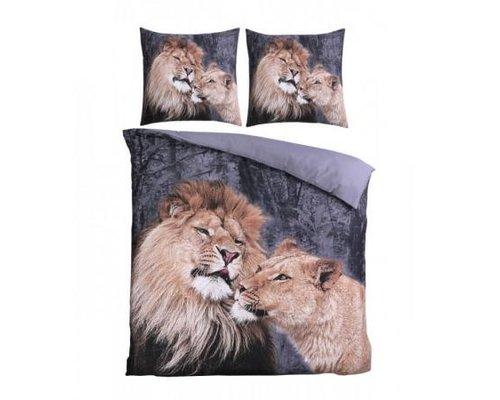 Cottonclub Dekbedovertrek Lion Love