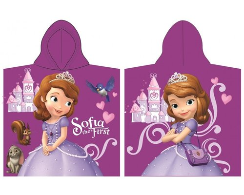 Sofia The First badponcho met capuchon