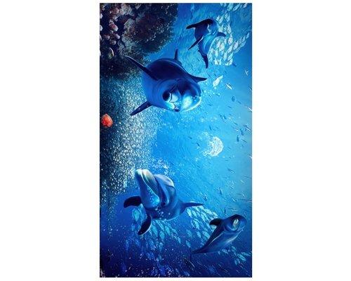 Strandlaken Dolfijnen