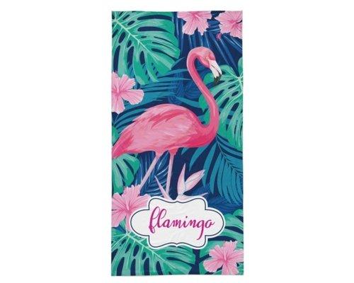 Flamingo strandlaken 70x140 cm
