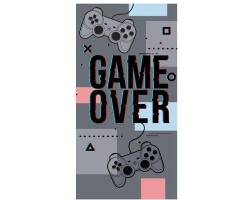 Game over strandlaken 70x140 cm