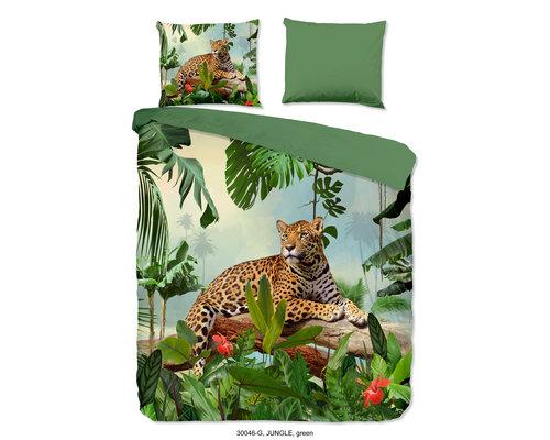 Good Morning Dekbedovertrek Jungle luipaard