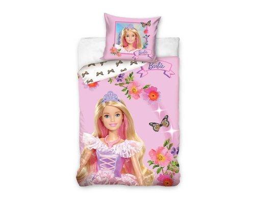 Barbie Dekbedovertrek vlinder 140x200 cm