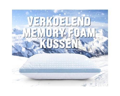 Dreamhouse Verkoelend 3D blue cell memory foam hoofdkussen