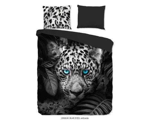 Pure Dekbedovertrek Panther blue eyes