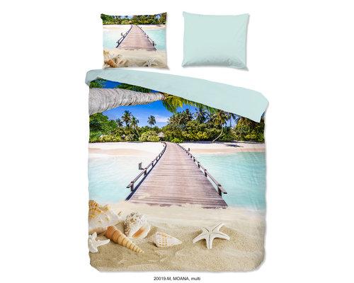 Pure Dekbedovertrek Tropical beach