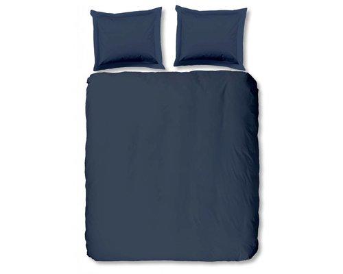 Blauw dekbedovertrek