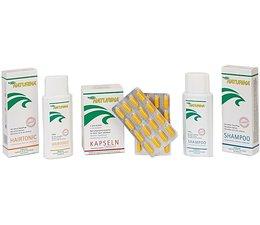 Naturina® Anti Hair Loss -6 Month Set . 6 x Shampoo, 6 x Hairtonic and 6 x Capsules