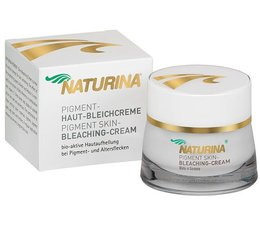 Naturina® Skin Whitening & Pigment Bleaching Cream for Black Skin 50 ml