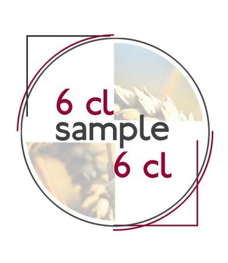 Lege/empty sample fles met dop 6 CL