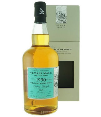 Briny Tangle 1990 Bowmore Wemyss Malt