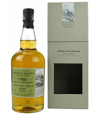 Marmalade Appeal 1988 Glenrothes Wemyss Malt