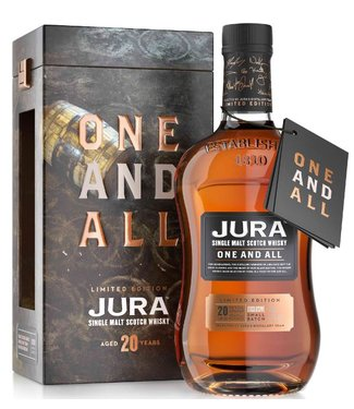 Isle of Jura 20 Years Old One and All