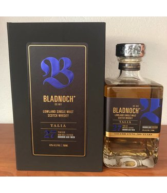 Bladnoch Talia 27 Years Old Anniversary Bottling