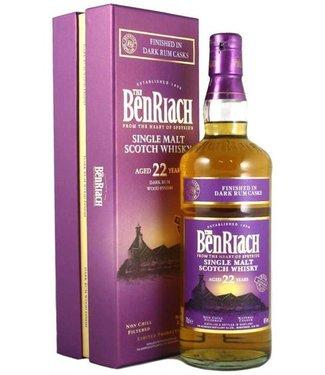 Benriach 22 Years Old Dark Rum Finish