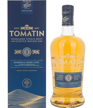 Tomatin 8 Years Old Liter 40%