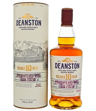 Deanston 10 Years Old Red Wine Cask Matured