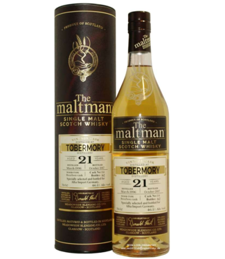 Tobermory 21 Years Old The Maltman